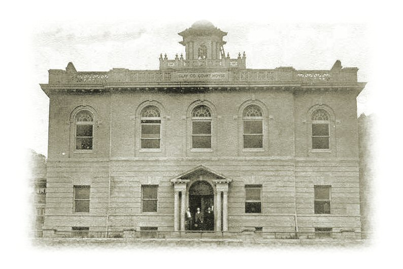 Clay County Courthouse 1907