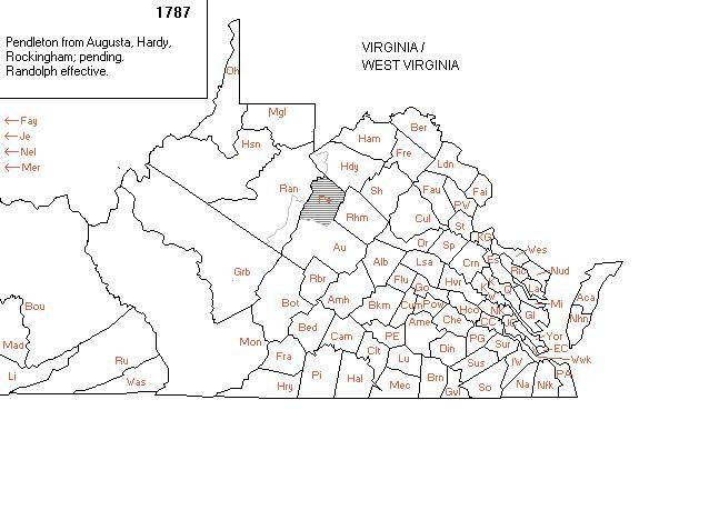 Map Of Virginia And West Virginia Together.Maps